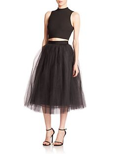 Elizabeth and James - Everleigh Tulle Midi Ball Skirt