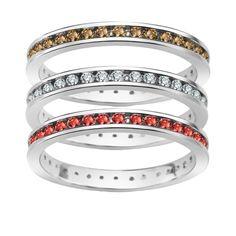 Komplet srebrnych pierścionków z cyrkoniami, 159,30 PLN, www.Bejewel.me/zestaw-srebrne-pierscionki-910 #jewellery #silver #bejewelme #bjwlme #shoponline #accesories #pretty #style
