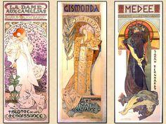 Alphonse Mucha: Art Noveau en su máxima expresión