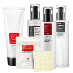 Buy COSRX Acne Skin Routine Set and other COSRX Cosmetics at the k-beauty, kbeauty, k beauty, kbeauty curation StyleKorean. Diy Skin Care, Skin Care Tips, Korean Skincare Steps, Cosrx, Skin Routine, K Beauty, Pimples, Cosmetics, Urban Outfitters