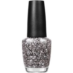Opi Nail Laquer I'll Tinsel You In (34 CAD) ❤ liked on Polyvore featuring beauty products, nail care, nail polish, nails, beauty, makeup, fillers, silver glitter, womens-fashion and opi nail varnish