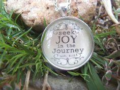 Matthew 633 Seek Joy in the Journey by SweetBirdieBlessings, $17.00