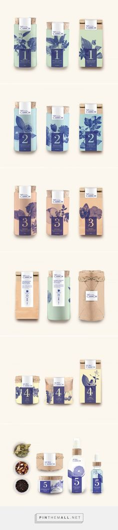 Thés George Cannon Tea Packaging by Marion Dufour | Fivestar Branding Agency – Design and Branding Agency & Curated Inspiration Gallery