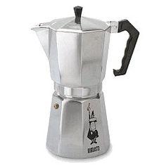 Expresso coffee maker «Moka Express», Aluminium. Alfonso Bialetti. 1930