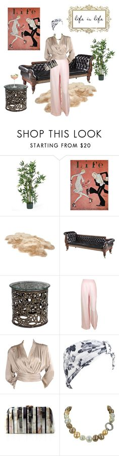 """""""life is life"""" by gulokmini ❤ liked on Polyvore featuring Nearly Natural, UGG, Chanel, Yves Saint Laurent, Beauxoxo, Serpui and Crate and Barrel"""