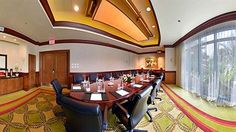 A business meeting can be held at the Hilton Barbados Resort,  minutes from Needhams Point and George Washington House. This 4-star resort is within close proximity of Garrison Savannah and Barbados Museum and Historical Society. #barbados #resort #hilton #holiday #vacation #business #hotel  Get a beach tour along with your room too!