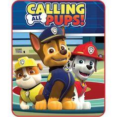 Nickelodeon Paw Patrol Calling All Pups Silk-Touch Throw - Walmart.com
