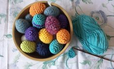 Easy crochet eggs