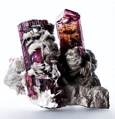 Every mineral specimen we display is completely natural, as found deep in the Earth. The only intervention by human hands is the removal from the mine and cleaning. Natural Crystals, Stones And Crystals, Natural Gemstones, Minerals And Gemstones, Rocks And Minerals, Diamond Quartz, Mineralogy, Crystal Magic, Mineral Stone