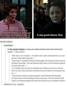 This means that McGonagall thinks Lockheart is a better teacher than Umbridge!