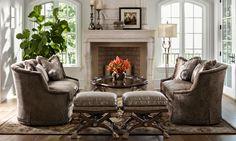 Ari43 Ariel Sofa Marge Carson Furniture Marc Pridmore Designs Orange County