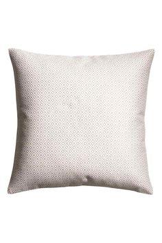 Жаккардовый чехол на подушку - Белый/Рисунок - HOME | H&M RU