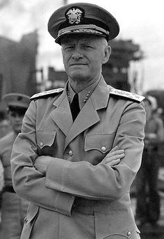 Admiral Chester William Nimitz was a fleet admiral of the United States Navy. He played a major role in the naval history of World War II as Commander in Chief, United States Pacific Fleet, for U.S. naval forces.