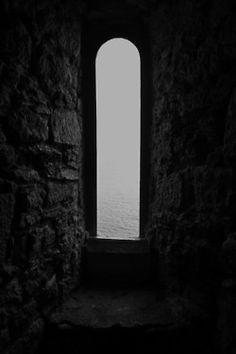 photography art Black and White old dark sea castle Window gothic brick wall black and white photography brick rural dark photography