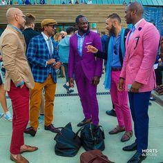 Gents unafraid of colour.. #MortsAndMore