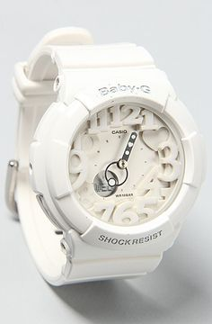 G-SHOCK The BabyG Pop Up Dial Watch in White : Karmaloop.com - Global Concrete Culture