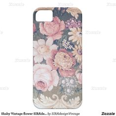 Shaby Vintage flower SIRAdesign iPhone 5 Hülle