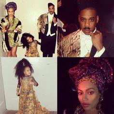 Beyoncé, Jay Z and Blue Ivy