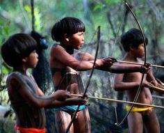 Xingu Tribe Brasil