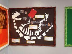 Dinosaur Reading Corner display