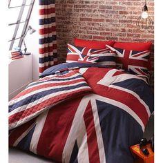 British American drapeau ensemble de literie housse de couette ...