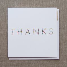 minimalist thank you card by the nimbus factory