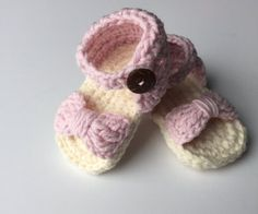 Crochet eve stylish baby sandals forecasting dress for spring in 2019