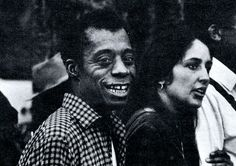 James Baldwin and Joan Baez marching to Montgomery. Photo by James H. Karales (1965).