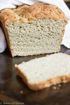Gluten-Free English Muffin Bread via @Alyssa   Queen of Quinoa [#glutenfree #dairyfree]