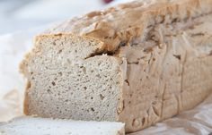 Give this super easy gluten-free and grain-free Blender Bread Recipe a try for a paleo friendly sandwich, french toast, or panini!