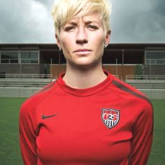 Megan Rapinoe - USA Soccer  My all time FAVORITE player!