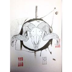 #tattoodesign #skull #animalskull #patriziapozo #sketchtattoo #madrid Tattoo Apprentice, Animal Skulls, Tattoo Sketches, Madrid, Tattoo Designs, Tattoos, Art, Art Background, Tatuajes