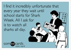 Love Shark Week!!!