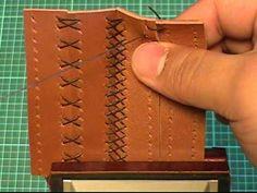 Costuras en cuero para unir dos piezas