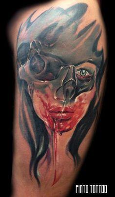 PIMTO TATTOO | Festiwal tatuażu Cropp Tattoo Konwent Portrait, Tattoos, Tatuajes, Headshot Photography, Tattoo, Portrait Paintings, Drawings, Portraits, Tattos