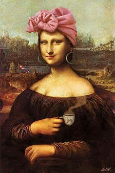 Don't ask how I managed to spiral down a random rabbit hole of Mona Lisa parodies but that's just the power of the internet. I was utterly amazed at the hundreds and hundreds hilarious spoofs artists have created using da Vinci's famed portrait. So, as we recover from another far too short,