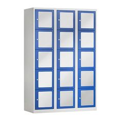 Premium locker Acrylglas | Kantoormeubelen | Locker with transparant doors
