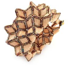 Contemporary Geometric Beadwork beaded by Ronel Durandt