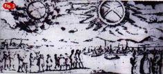Visión de un OVNI sobre Hamburgo, Alemania, el 4 de Noviembre de 1697