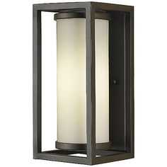 Industrial Moderne Outdoor Wall Sconce by Feiss at Lumens.com