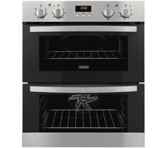 Zanussi ZOE35511XK Built Under Double Electric Oven Stainless Steel GRADED