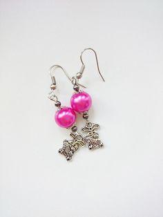 Kolczyki - króliczki - barbarella-br - Kolczyki długie Your Girl, Earrings, Etsy, Beautiful, Jewelry, Ear Rings, Stud Earrings, Jewlery, Jewerly