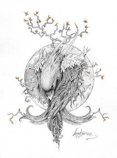 """The Raven"" on Behance"