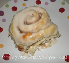 Cinnamon rolls. Make the night before and put in oven in the morning!