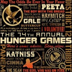 Awesome Hunger Games art