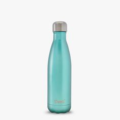 Sweet Mint S'well subtle glamorous water bottle from our Glitter Collection is the most popular water drinking thermal flask which keeps your drinks hot for 12 and cold for 24 hours.