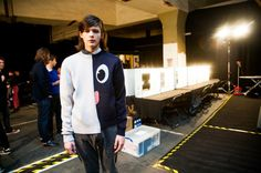 LONDON COLLECTIONS: Backstage at Christopher Shannon AW13 | Wonderland Magazine