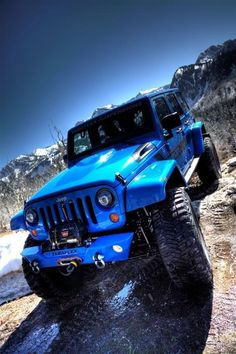 with the largest selection of new and used Jeep Wranglers! Over 500 vehicles in stock. Jeep Jk, Jeep Truck, Ford Trucks, Jeeps Levantados, Cool Jeeps, Lifted Jeeps, Lifted Ford, Jeep Wranglers, Jeep Azul