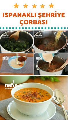 Video narration How to make Spinach Noodle Soup Recipe? Video narration of this recipe in 474 people& books and photos of those who try it are here. Spinach Noodles, How To Make Spinach, Wie Macht Man, Turkish Recipes, Recipe For Mom, Noodle Soup, Soup Recipes, Noodle Recipes, Food Videos