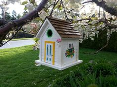 Repaint an old bird house!